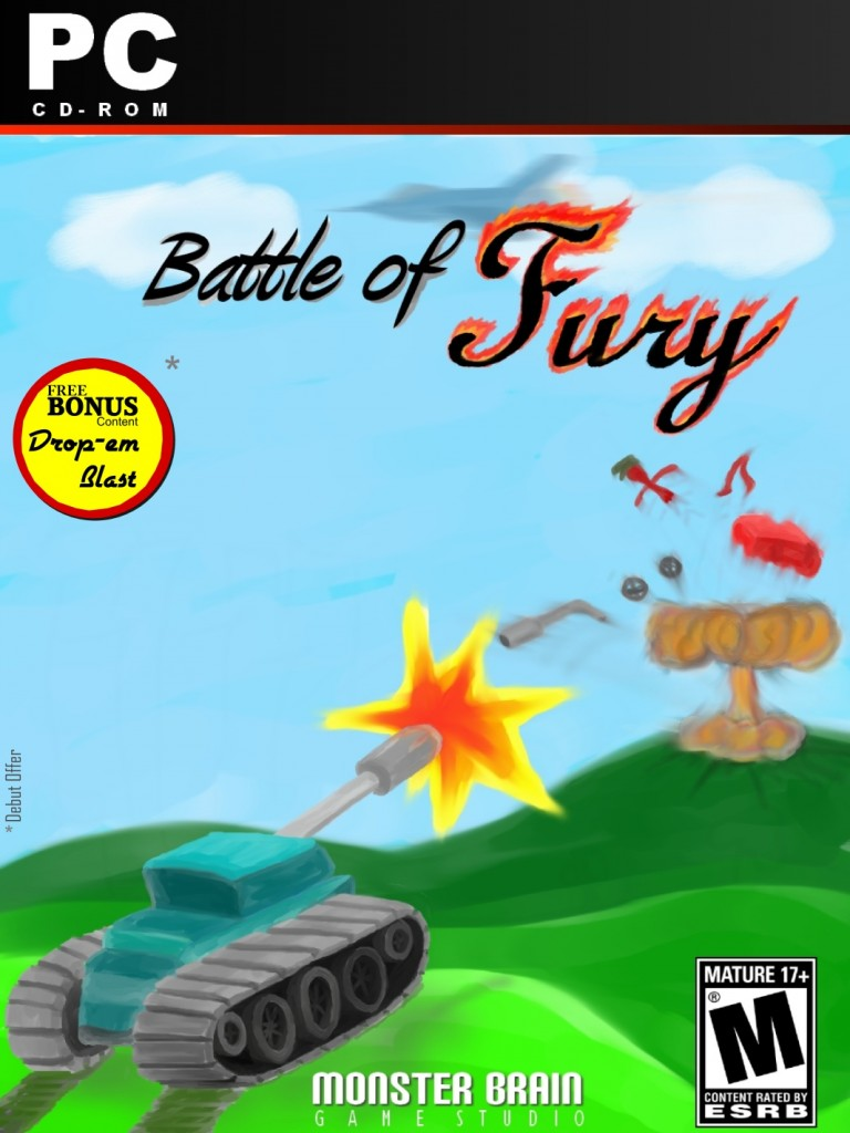 Battle of Fury : Official Box Art