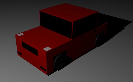 Making Simple Car Blender Tutorial Unity 3d