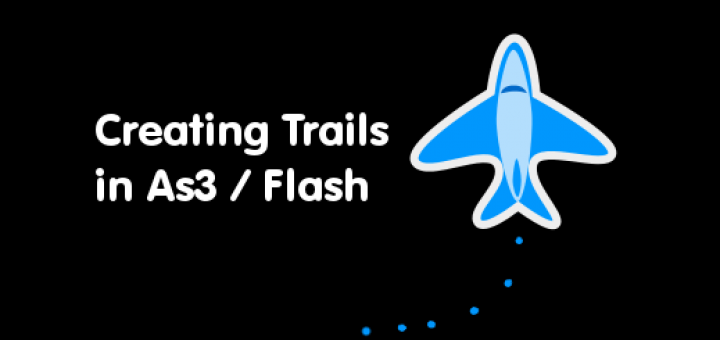 Creating Trails in actionscript game